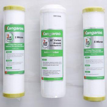 Bộ 3 lõi lọc dùng cho máy lọc RO - Hoàng Lâm chuyên lọc nước - https://maylocnuochanoi.com