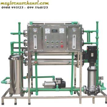 Dây chuyền lọc nước tinh khiết - Hoàng Lâm - maylocnuochanoi.com
