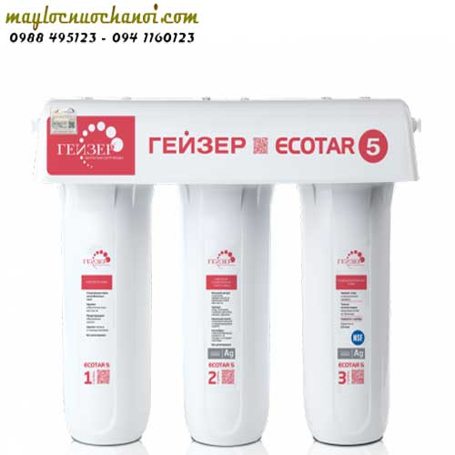 Geyser Ecota 5 - Hoàng Lâm - chuyên máy lọc nước Geyser Lb Nga