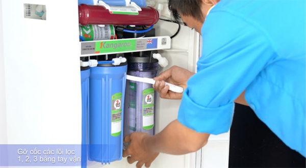 Hướng dẫn lắp đặt máy lọc nước gia đình 9