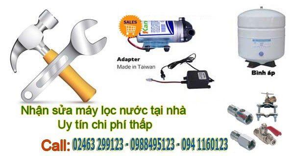 Sửa chữa - thay lõi lọc nước tại nhà