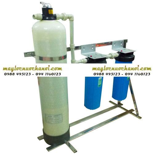 Cột lọc thô đầu nguồn Composite - Hoàng Lâm - Chuyên lọc nước tổng sinh hoạt