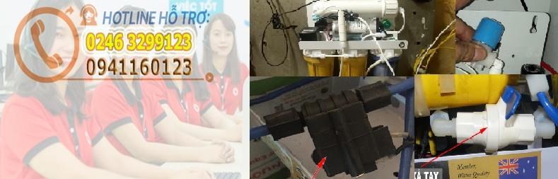 Hướng dẫn xử lý máy lọc nước không tự ngắt