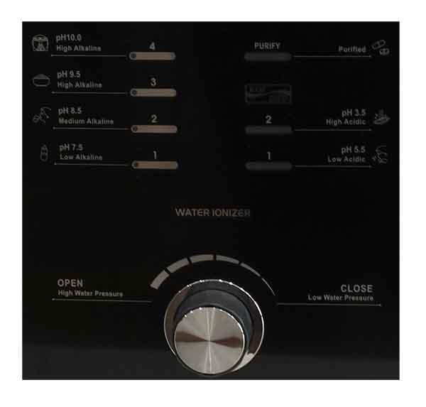 Bảng điều khiển máy Pi Biontech dễ sử dụng