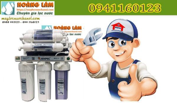 Sửa máy lọc nước Jenpec ra ít nước