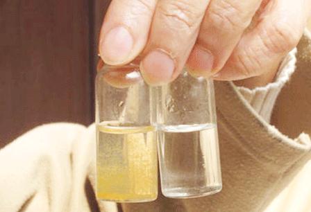 Phát hiện nước nhiễm Amoni