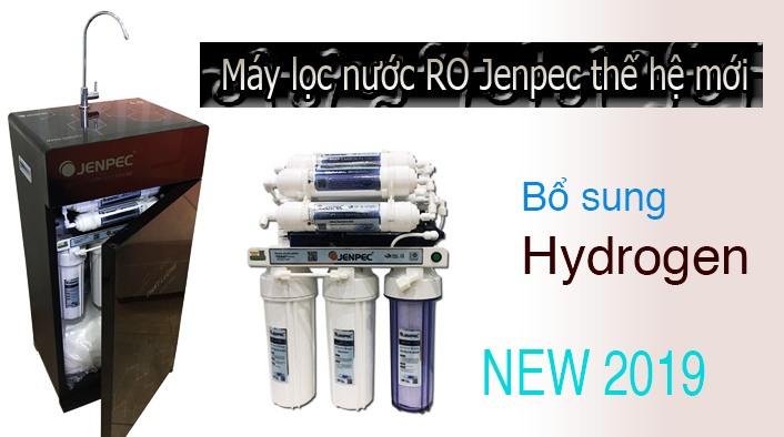 Máy lọc nước RO Jenpec thế hệ mới bổ xung Hydrogen