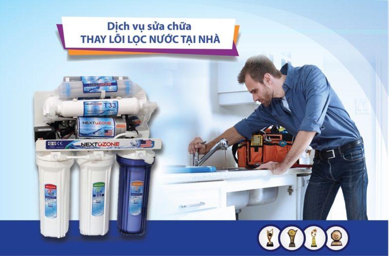 bảo dưỡng sửa chữa máy lọc nước tại nhà