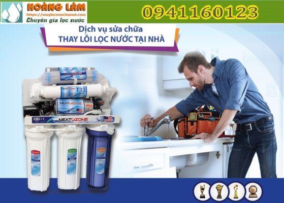 Nguyên nhân và cách khắc phục trường hợp sửa máy lọc nước bị rò rỉ nước