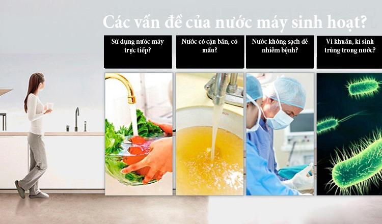 Lọc nước đầu nguồn TSD - Màng UF SIêu Sạch - Hoàng Lâm Hà Nội