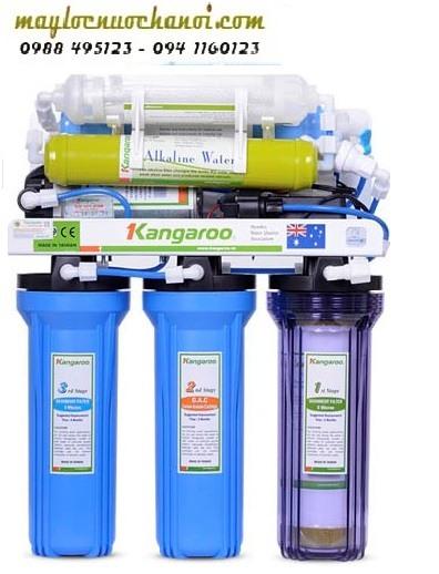 Máy lọc nước Kangaroo KGHIMLAM 7 lõi không vỏ