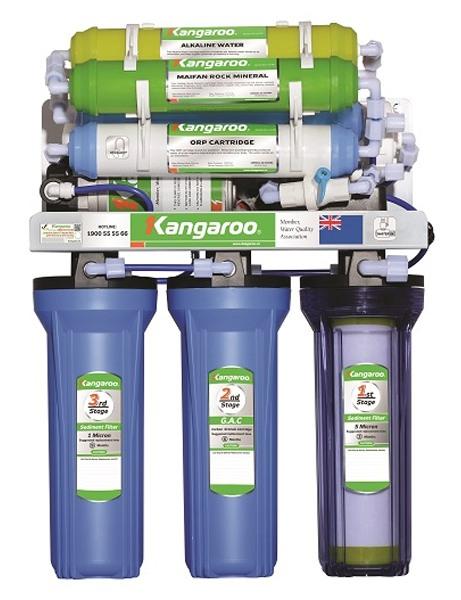 Máy lọc nước Kangaroo KGHIMLAM 9 lõi không vỏ