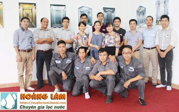 Đội ngũ kỹ thuật Hoàng Lâm Hà Nội