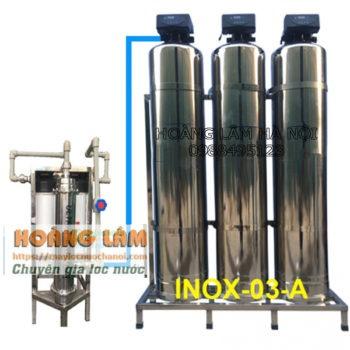 CỘT LỌC TỔNG INOX 304 - MÀNG UF