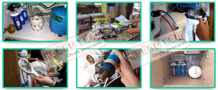 Hoàng Lâm sửa máy lọc nước tại nhà