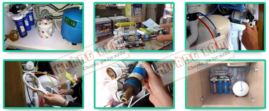 DỊch vụ sửa chữa máy lọc nước Hoàng Lâm Hà Nội